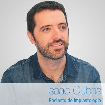 Isaac Cubas: opinión implantes