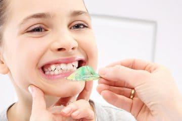 Aparatos de ortodoncia infantil