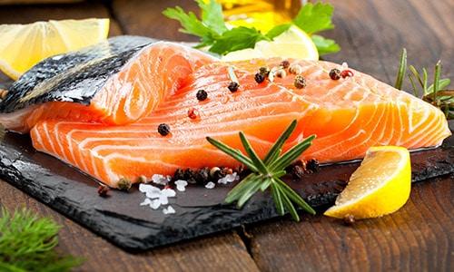 Salmon salud dental