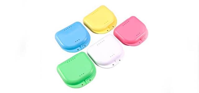 Caja para aparato dental