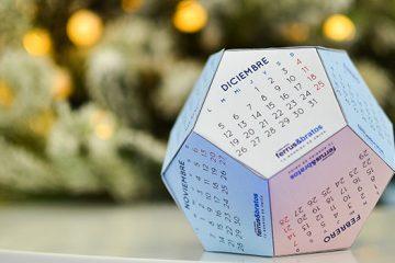 Calendario dodecaédrico de 2016