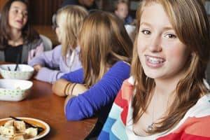 Restricciones de comida con ortodoncia