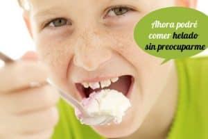 comer helado sin preocuparme