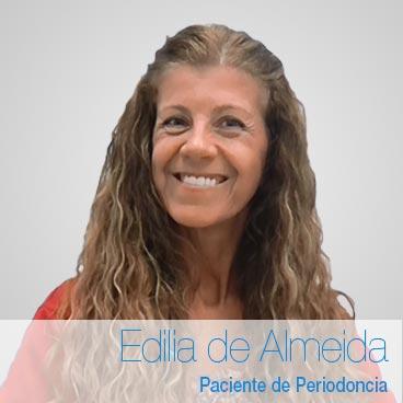 Opinión implantes dentales: Edilia de Almeida