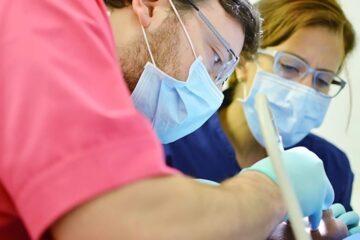 Blanqueamiento en diente con endodoncia