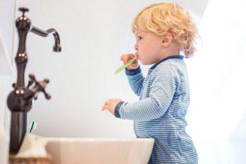 Fluorosis dental en niños
