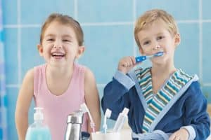 Flúor para dientes de niños