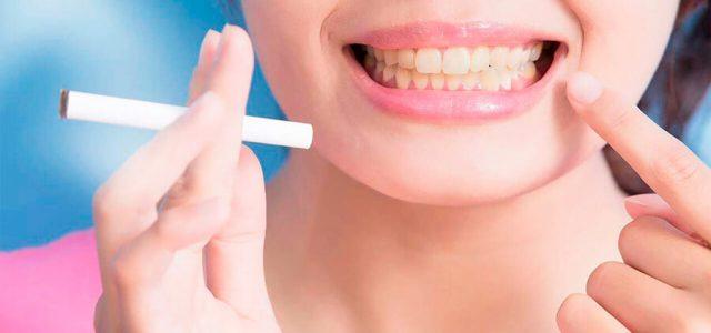 Los fumadores tienen más problemas de encías