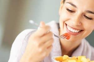 Masticación y deglución de alimentos