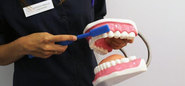 Rutina de higiene bucal