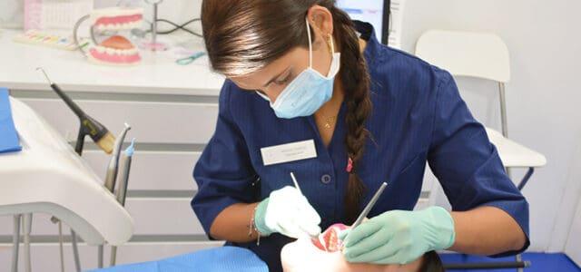 Eliminar el sarro dental