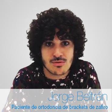 Opinión ortodoncia de zafiro: Jorge Beltrán