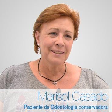 Marisol Casado: opinión odontología general
