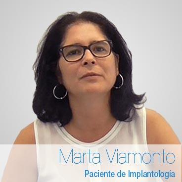 Marta Viamonte: opinión implantes