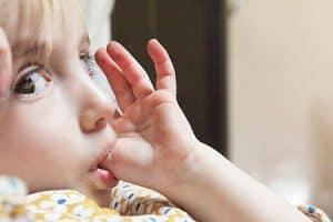 Succión del dedo pulgar