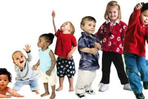 Fases del crecimiento en niños