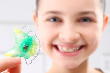 Aparatos dentales para niños