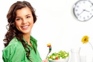 Restablecer peso y hábitos de alimentación saludables