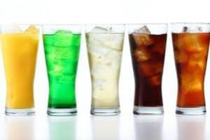 Efectos de bebidas azucaradas en dientes