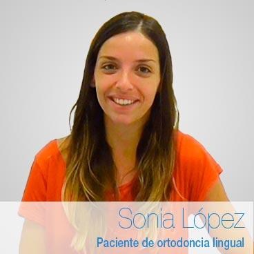 Opinión Ortodoncia lingual: Sonia López