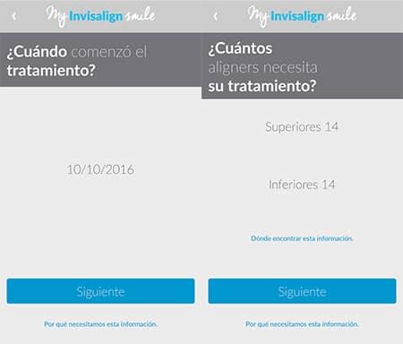 App para seguir el tratamiento con Invisalign
